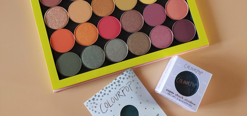 Colourpop – BYOP Pressed Power Shadow y Super Shock Shadow