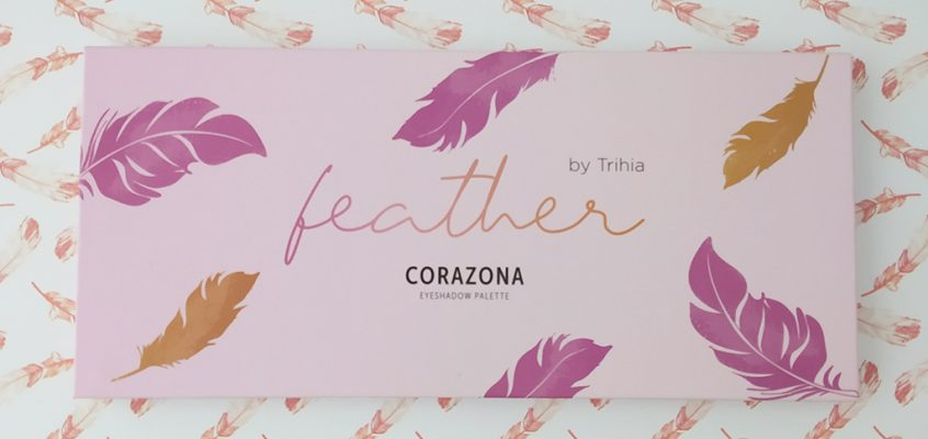 Corazona – Paleta de sombras Feather