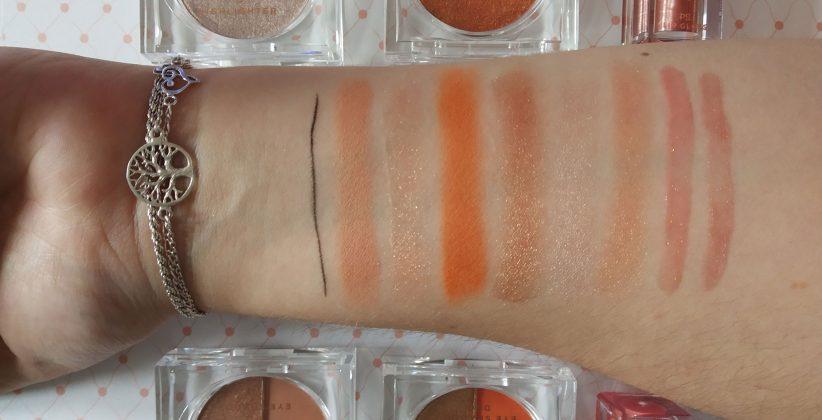 Baúl-maquillaje-colección-Jena-Frumes-contenidos-swatches