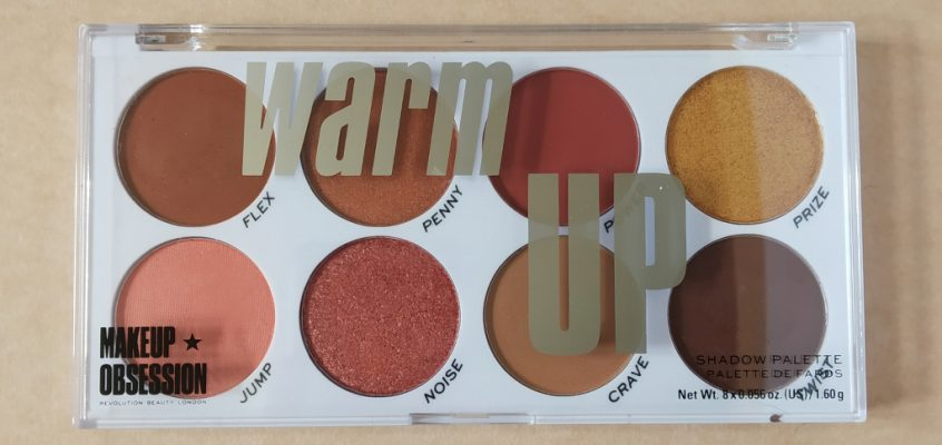 Makeup Obsession – Warm Up paleta de sombras